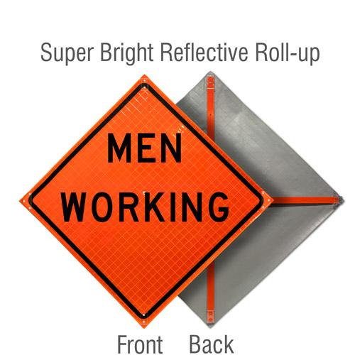 Men Working Sign