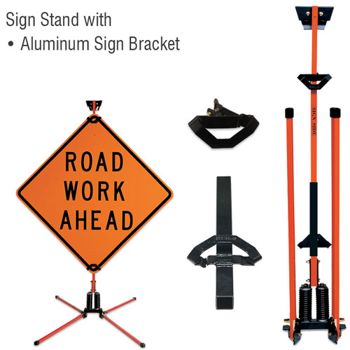Little Buster Sign Stand For Rigid Signs Only