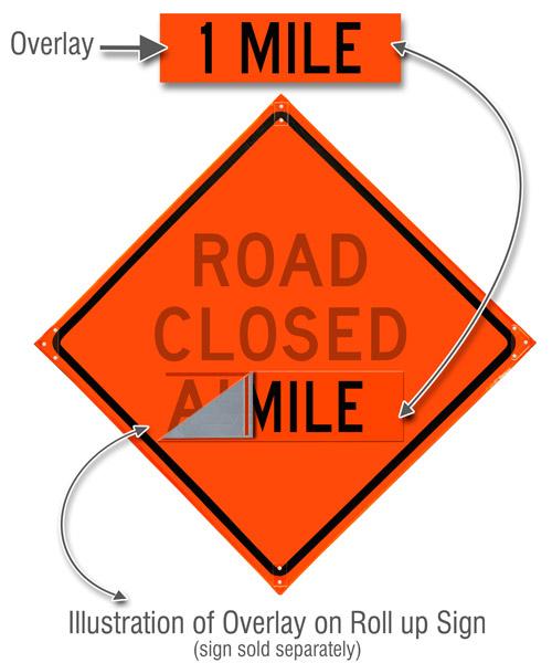 1 Mile Overlay – 26 × 8″