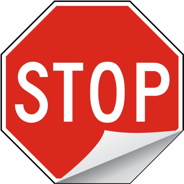 Stop Label