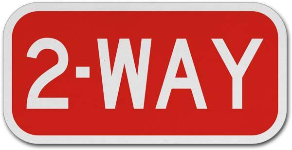 2 Way Sign