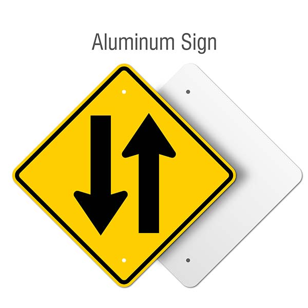 Two Way Street Sign