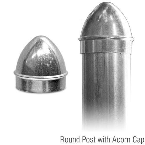 Aluminum Acorn Post Cap