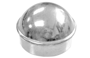 Galvanized Round Post Cap
