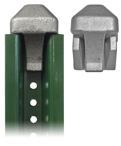 4lb. Steel U-Channel Post Protector For Post Installation