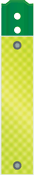 3'' x 72'' Yellow-Green Diamond Grade Reflective Panel