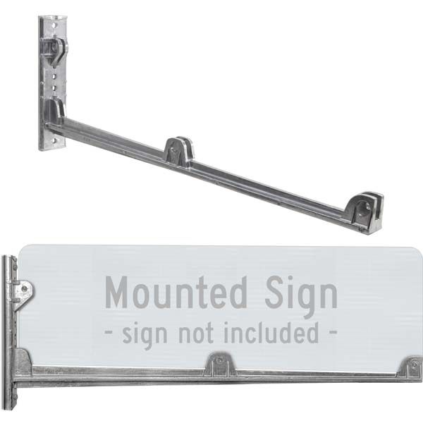 "24"" Street Name Sign Wing Bracket"