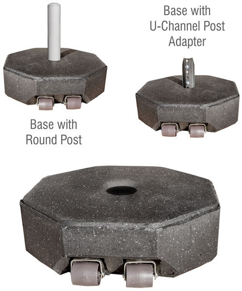 Recycled Rubber Base - 60 lbs.