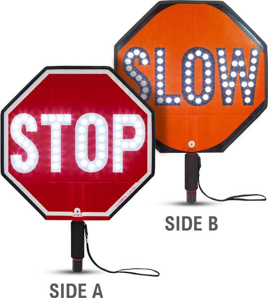 """18"""" LED Stop / Slow Paddle"""
