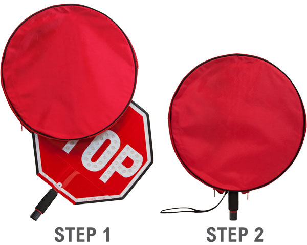 """18"""" Vinyl Cover for Stop Paddles"""