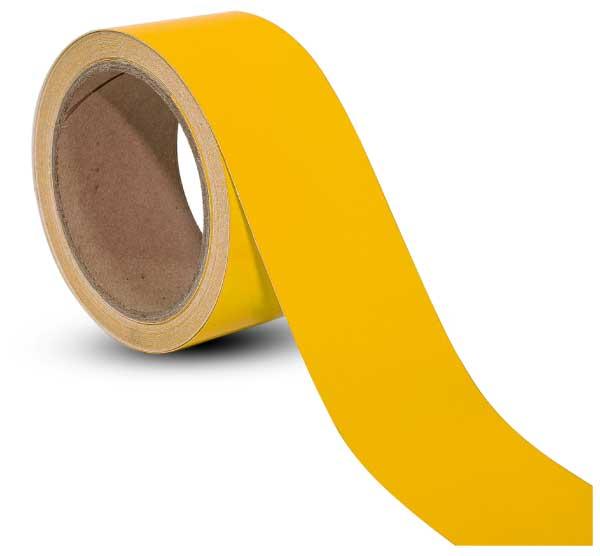 Yellow Reflective Floor Marking Tape