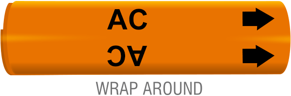 AC Wrap-Around Marker