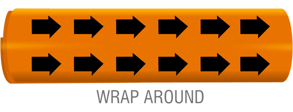 Arrow Wrap-Around Marker