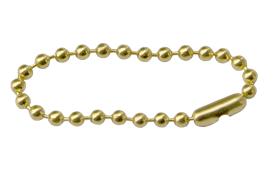 #6 Brass Beaded Chain