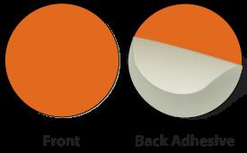 Orange Plastic Marker