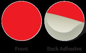 Red Plastic Marker