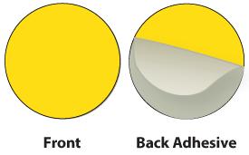Yellow Plastic Marker