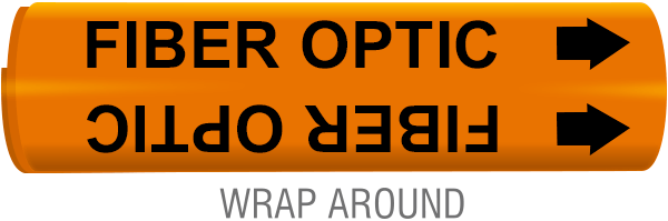 Fiber Optic Cable Wrap-Around Marker