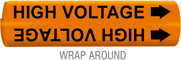 High Voltage Wrap-Around Marker