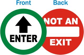 Enter / Not an Exit Label