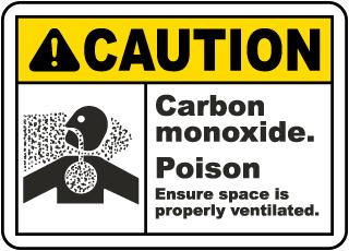 Carbon Monoxide Poison Sign