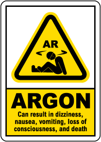 Argon Results Sign