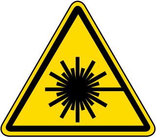 Laser Beam Warning Label