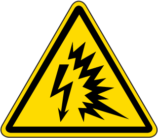 Arc Flash Explosion Warning Label