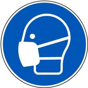 Wear A Mask Label