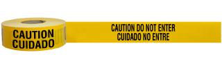 Bilingual Caution Do Not Enter Tape