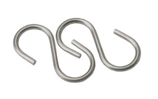 "Stainless Steel ""S"" Hooks"
