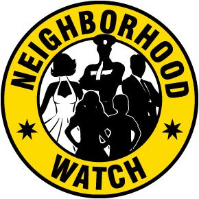 Neighborhood Watch Label