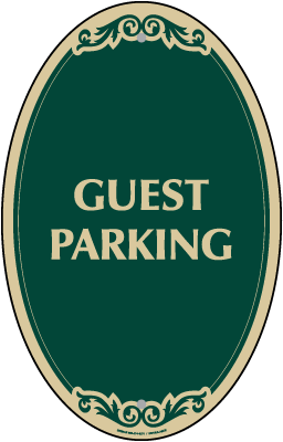 Guest Parking Sign