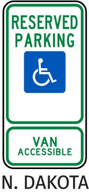 North Dakota Accessible Parking