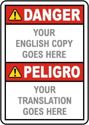 Bilingual ANSI Z535