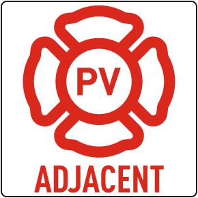 NJ Adjacent Solar Panel Sign