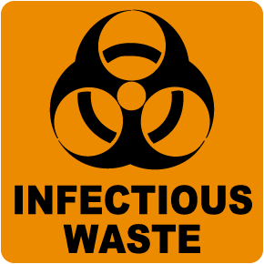 Infectious Waste Label