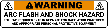 Arc Flash & Shock Hazard Follow Requirements In NFPA 70E