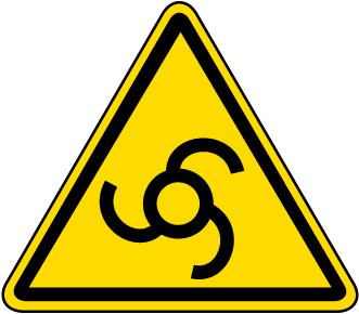 Automatic Start Up Warning Label