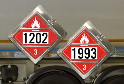 Diesel DOT Placards