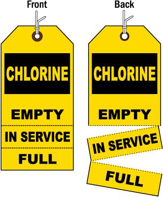 3-Part Chlorine Status Tag