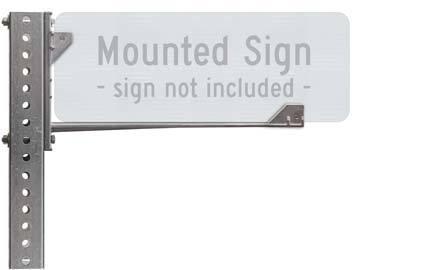16″ Wing Bracket for Street Signs