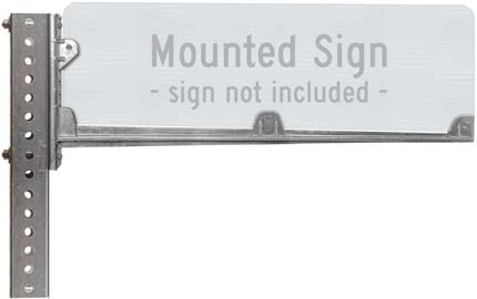 24″ Wing Bracket for Street Signs