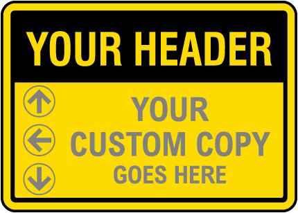Blank Colored Headers