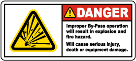 Improper By-Pass Operation Labels