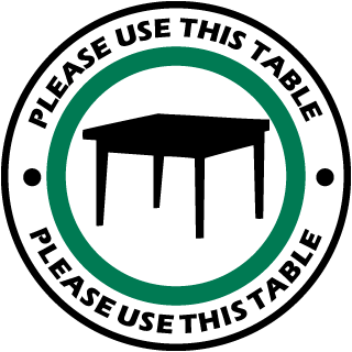Please Use This Table Label
