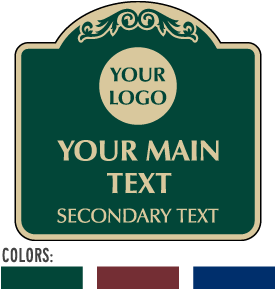 Custom Decorative Signs (Square)