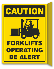 2-Way Forklifts Operating Sign