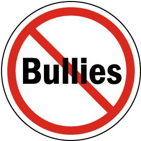 No Bullies Label