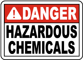 Indiana Pool Chemicals Sign